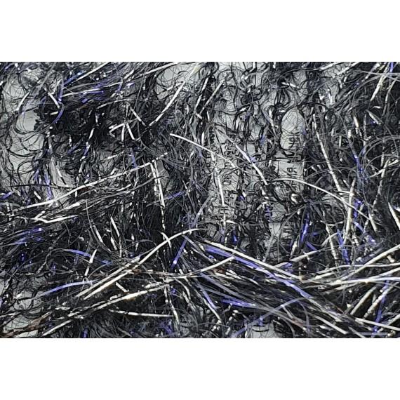 Silver UV sparkle chenille