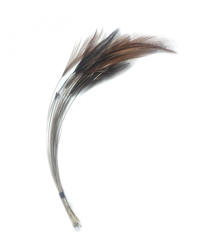 Ready stripped hackle quills