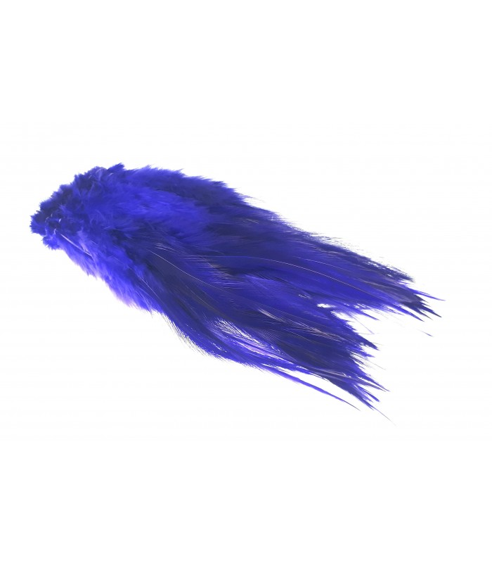 Rooster saddle feather