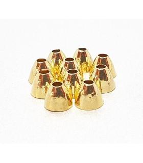 Brass cone head