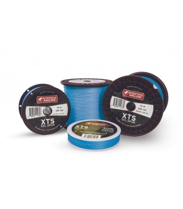 Scientific angler XTS gel spun blue backing 50lbs 250yds