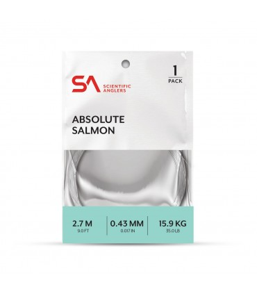 Scientific angler absolute salmon leader