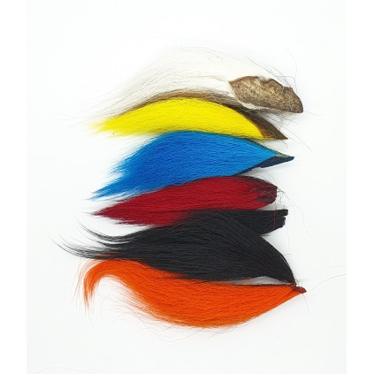 Bucktail mix 6 colours - Veniard